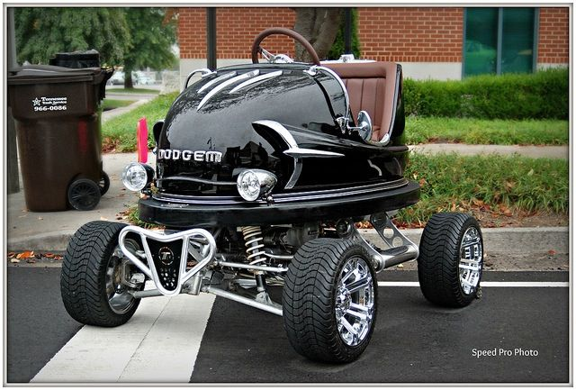 Street legal bumper cars. I Love this. I want one