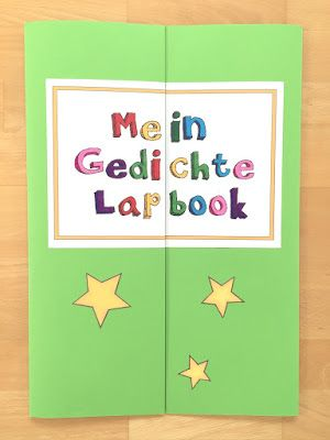 gedichtelapbook materialwiese schule spielen