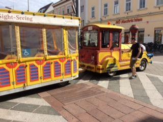St Pölten, Austria - the sightseeing train