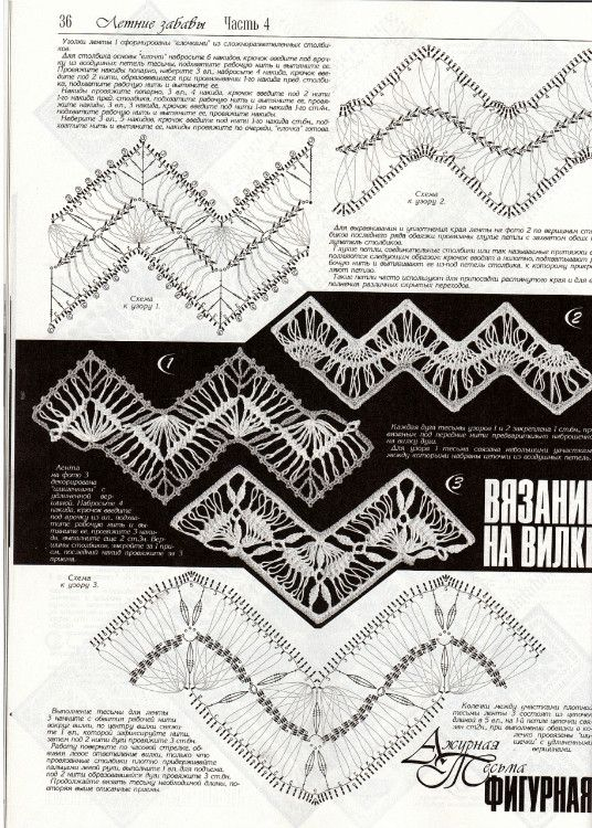 Дуплет №149 2013-北疆昆仑的相册 Hairpin lace pattern                                                                                                                                                      More