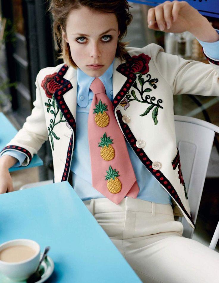 Эди Кэмпбелл (Edie Campbell) для Vogue UK