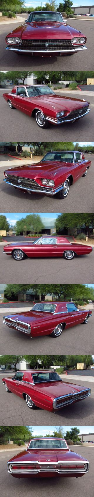 1966 Ford Thunderbird..Re-pin Brought to you by agents of #CarInsurance at #HouseofInsurance in Eugene, Oregon