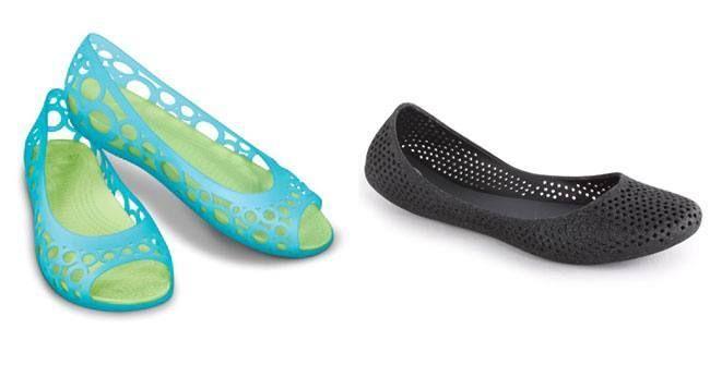#Monsoon #Fashion: Stylish Waterproof #Footwear - Ballerinas
