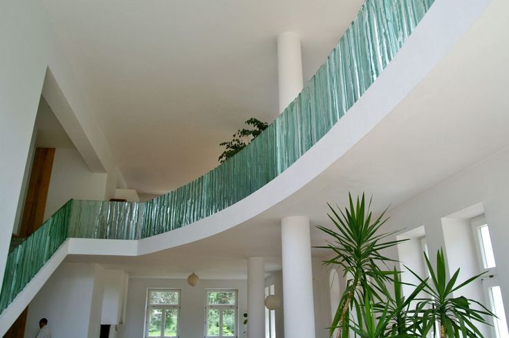 Artistic glass balustrades by Archiglass, Tomasz Urbanowicz in Opypy, Poland. All rights reserved.