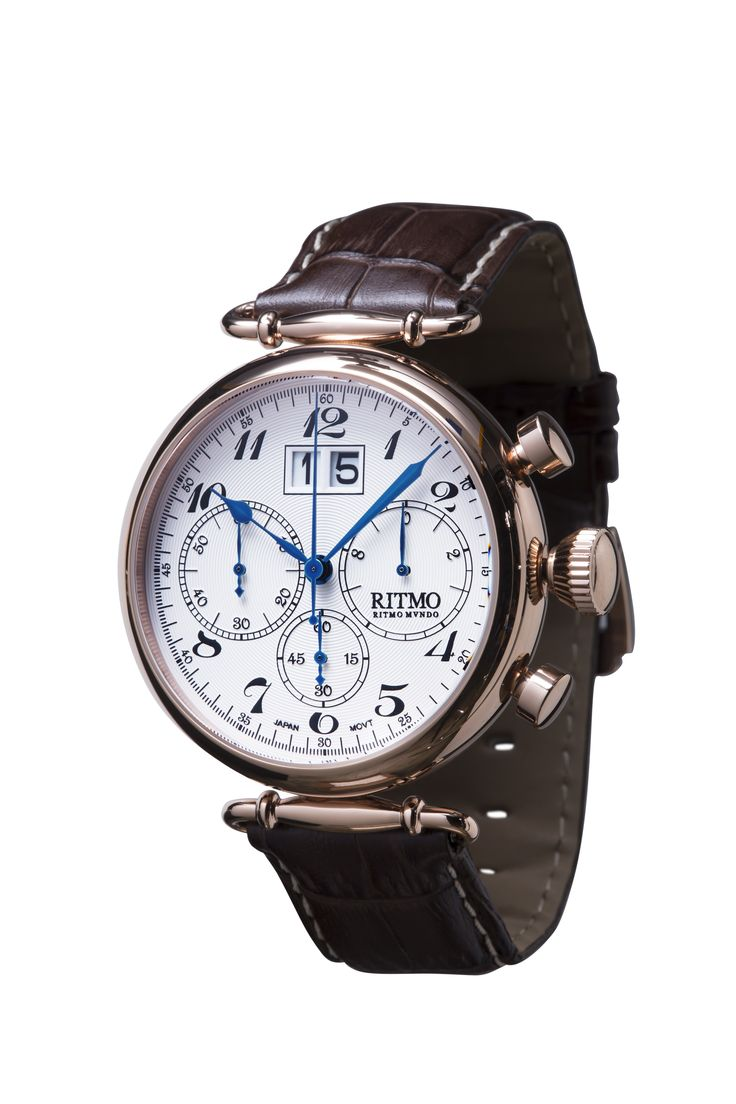 Corinthian 46mm Stainless Steel and Rose Gold Chronograph SPECIAL INTRO PRICE