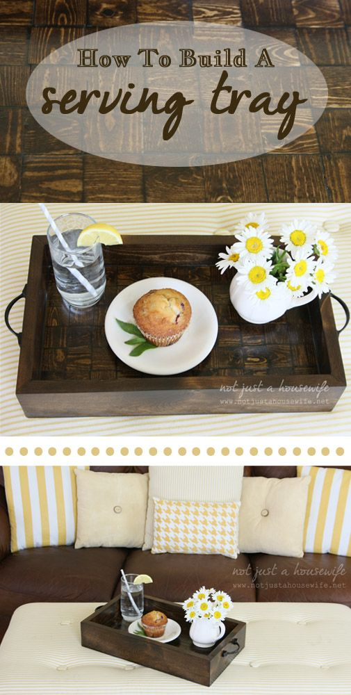 Serving tray tutorial {It's all in the details}