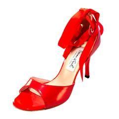 Comme il Faut Dance Shoes Charol Rojo