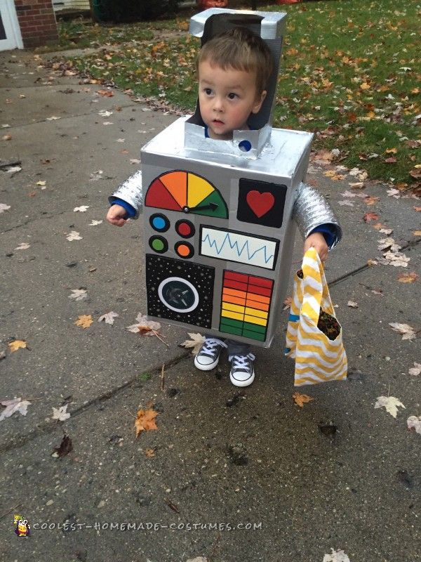 Best Robot Costume Ever - 1