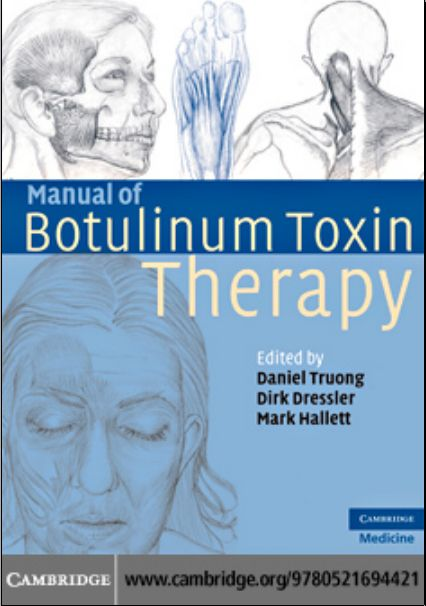 Manual of Botulinum Toxin Therapy 1st Edition [PDF]