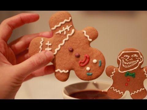 Galletas de Jengibre (Gingerbread Man) - Galletas de Navidad - YouTube
