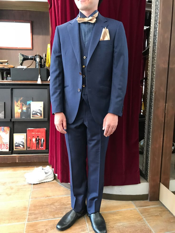 【ネイビー新郎様衣装】|結婚式の新郎タキシード/新郎衣装はメンズブライダルへ