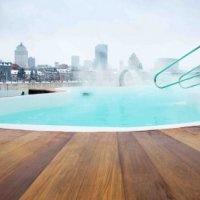 Floating spa, Montréal