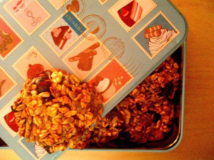 sama złodycz: Ciasteczka owsiane bez cukru i mąki