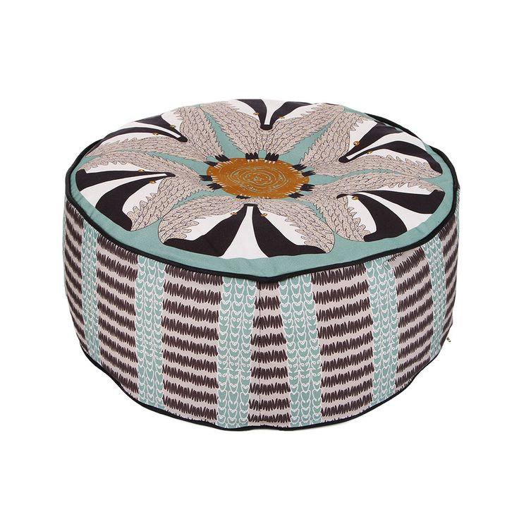 Discover the Orwell and Goode Badger Pouffe at Amara