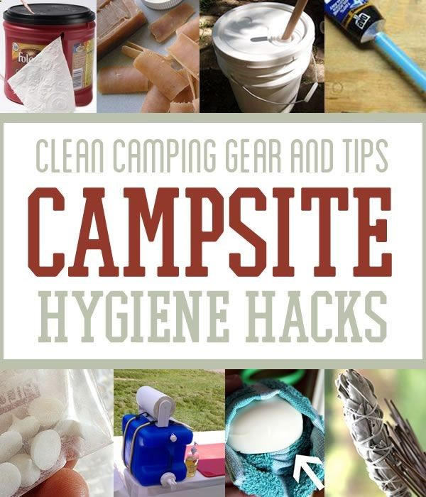 Clean Camping Gear and Tips | Campsite Hygiene Hacks | Survival Life