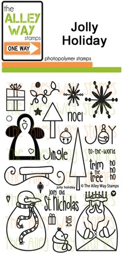 Jolly Holiday Thealleywaystamps Com Stamps Pinterest