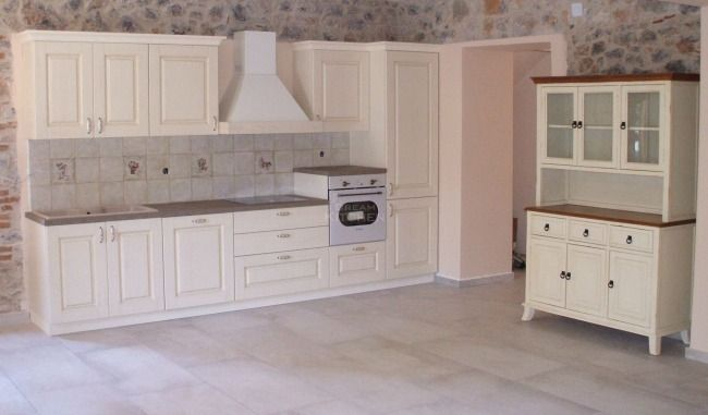 Κουζίνα με ηλεκτρικές συσκευές Μασίφ Olivia Sasso Συλλιάνα-Θεμιστοκλής 5000€