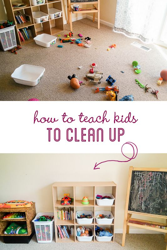 Great tips to teach your kids to help maintain a cleaner home.