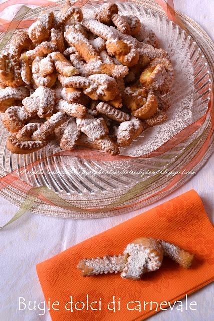 Bugie dolci di carnevale