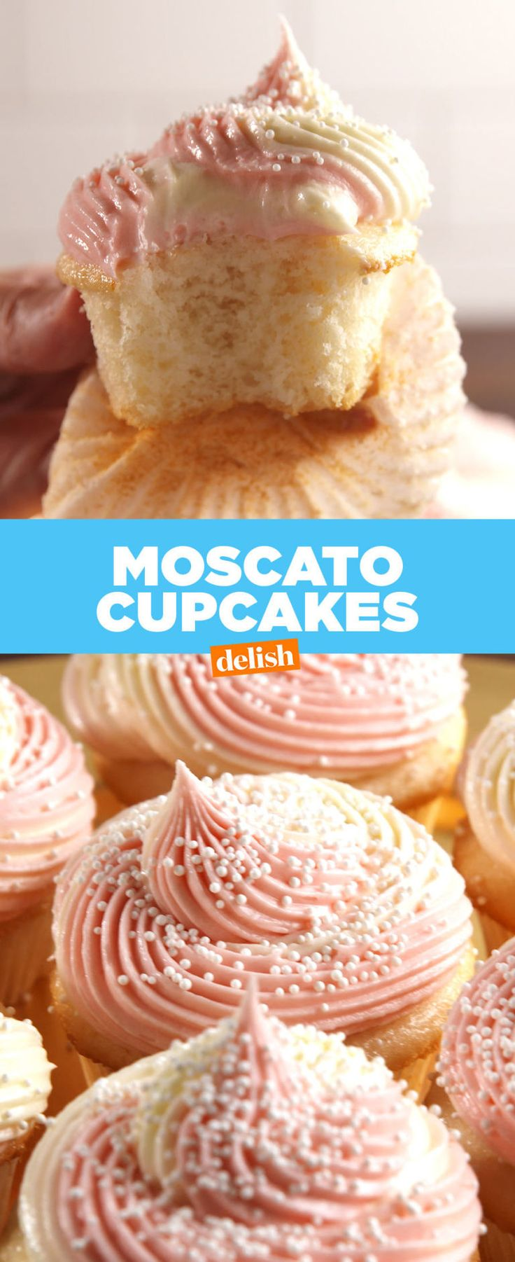 Moscato Cupcakes Are Dessert Goals  - Delish.com
