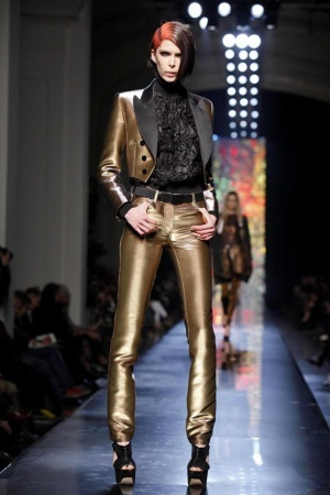 modeling Jean Paul Gaultier Fall 2012