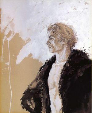 Beckett, before he left the forest to raise Seren.  Jamie Wyeth - Nureyev