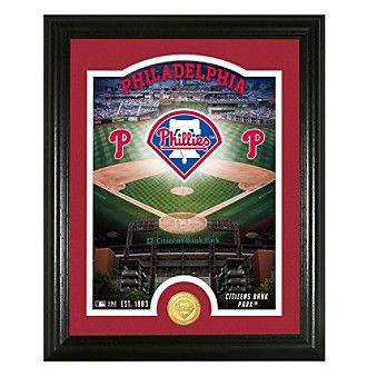 "MLB® Philadelphia Phillies ""Stadium"" Bronze Coin Photo Mint"