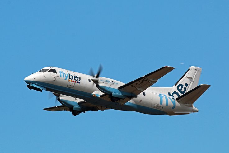 G-LGNF FLYBE SAAB 340 EDINBURGH AIRPORT
