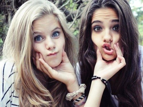 Hahahah funny faces with your bestfriend