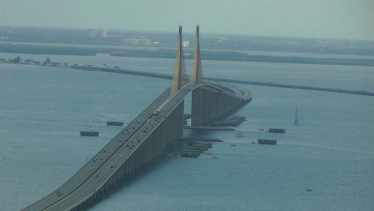 Sunshine Skyway Bridge, Tampa.