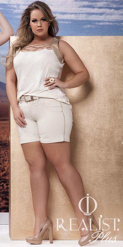 Realist Plus Size. Look da coleção Verão #Fashion #Women