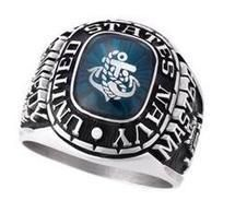 Customized Navy Ring to reflect your service : http://www.military-rings.com/navy-rings/ #U.S.Navy #Navy #USMilitary