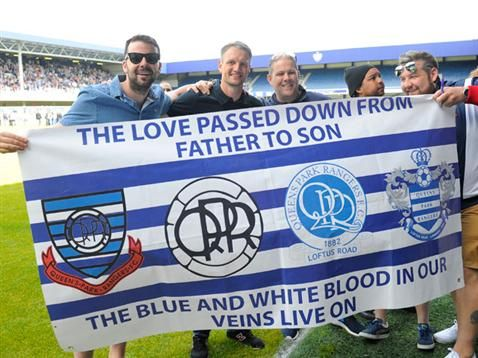 QPR celebrate Premier League promotion with event at Loftus Road following their 1-0 Championship Play-Off Final win against Derby County at Wembley Stadium