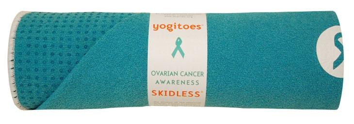 Best yoga towels ever.Yoga Products, Hot Yoga, Skidless Yoga, Ovarian Cancer, Cancer Awareness, Mats Towels, Yoga Mats, Yoga Towels, Awareness Skidless
