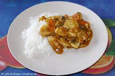 Kyckling i Currysås (Kinesisk)