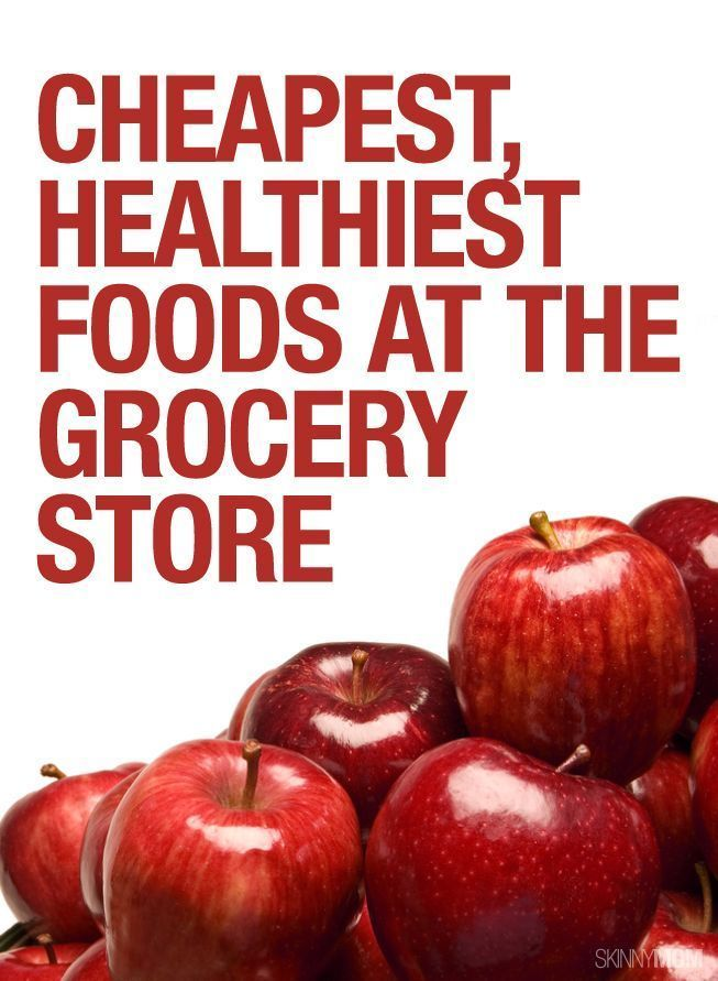 Healthy And Cheap Foods To Eat