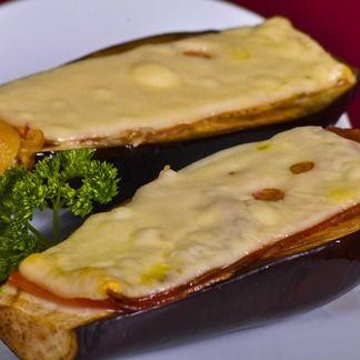 Aubergines en Papillote au Jambon, Emmental