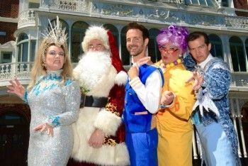 The lead cast of Santa Claus – The Musical descended on New Theatre Royal on 19 July to launch ourChristmas show. Dressed in full costume, the glittering line up celebrated the launch of the hit West End show with members of the local press on the hottest day of the year. Former member of Brit …