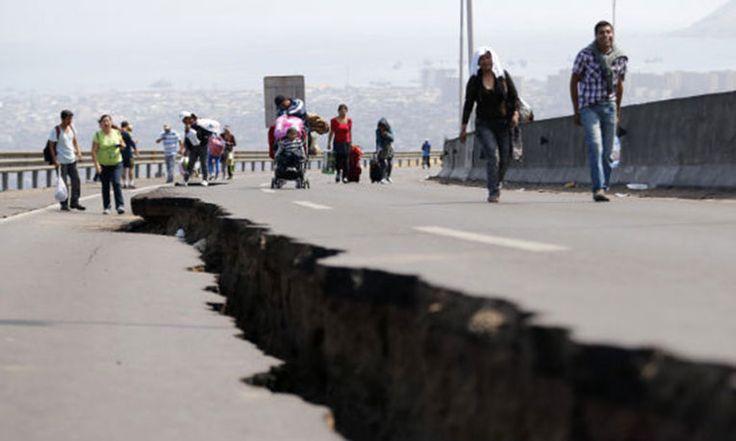 El epicentro se ubicó 249 kilómetros al norte de Santiago, con hipocentro a 13 kilómetros de profundidad.