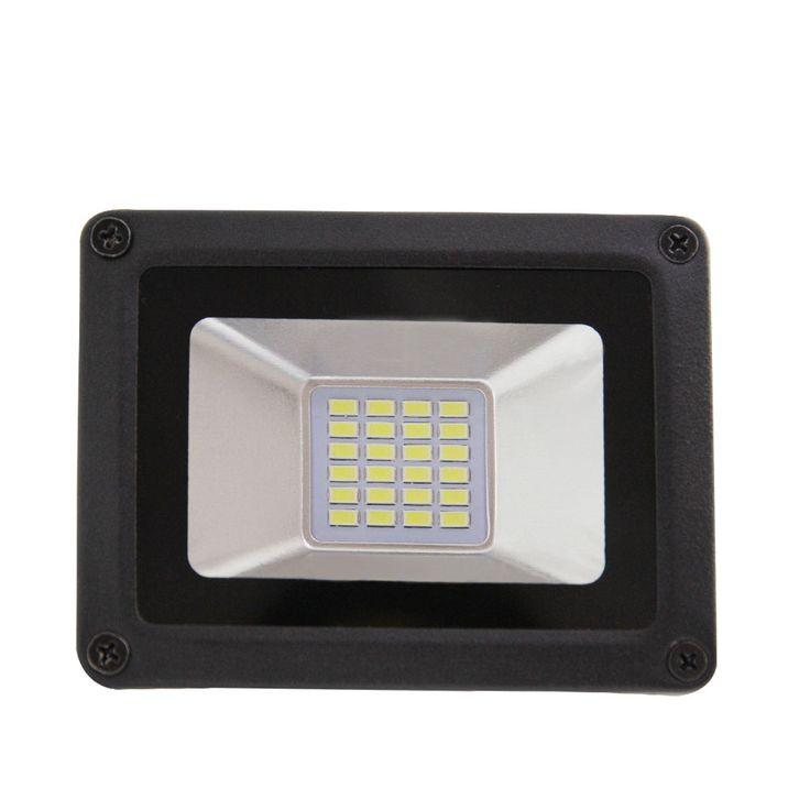 A MENÉ La Lumière D'inondation 10 W 20 W 30 W 50 W Projecteur IP65 Étanche 260 V LED Spotlight Refletor LED Éclairage extérieur Gargen Lampe date