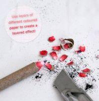 How to Make Paper Pencils (tutorial), herrlich, nur blutte mienen plus schönes papier mit kleber, alles ist möglich
