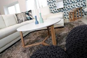 Stolik Hoop Dąb biały drewniana dębowa ława kawowa 90