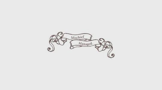 mischief managed <3