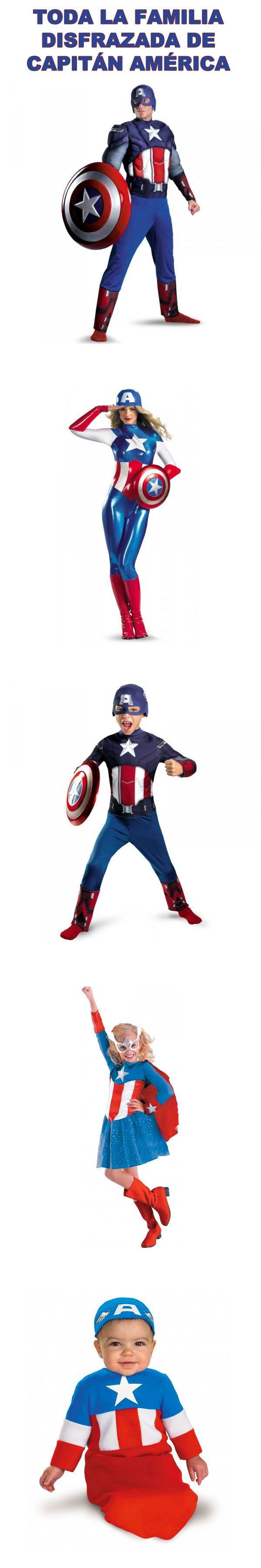 Toda la familia Capitán América