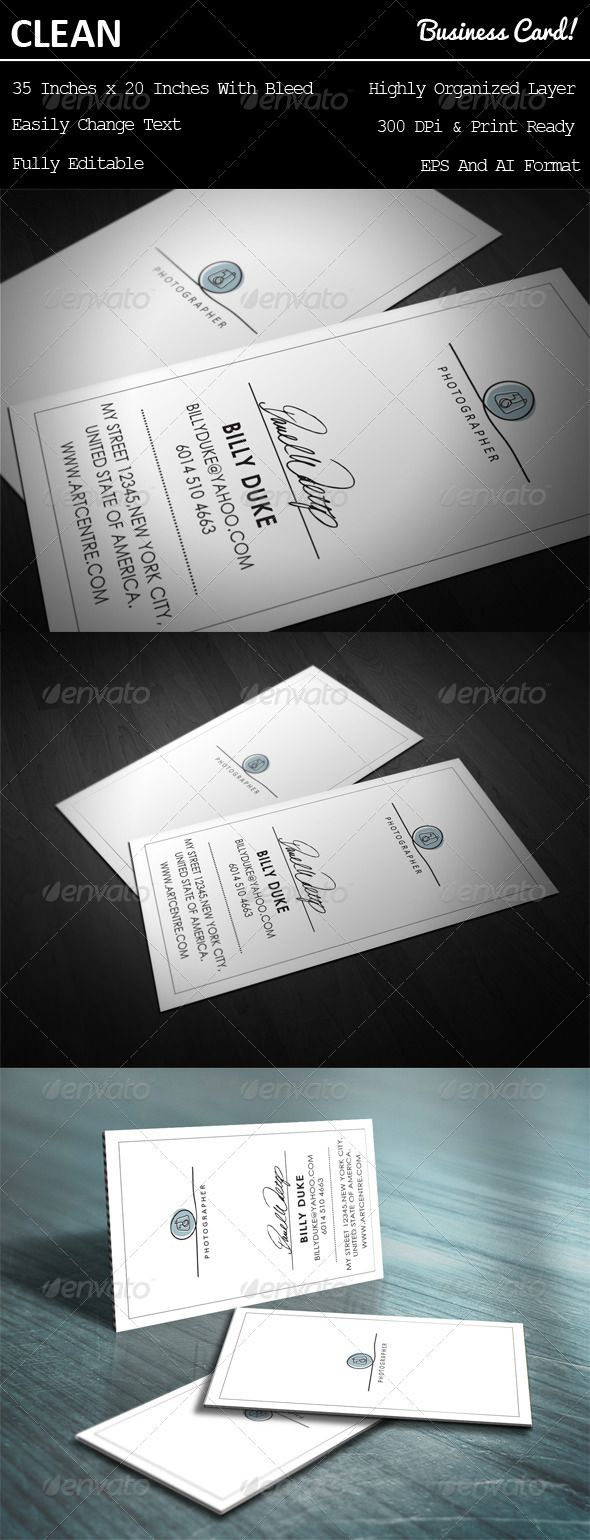 33 best business cards images on Pinterest | Business card design ...