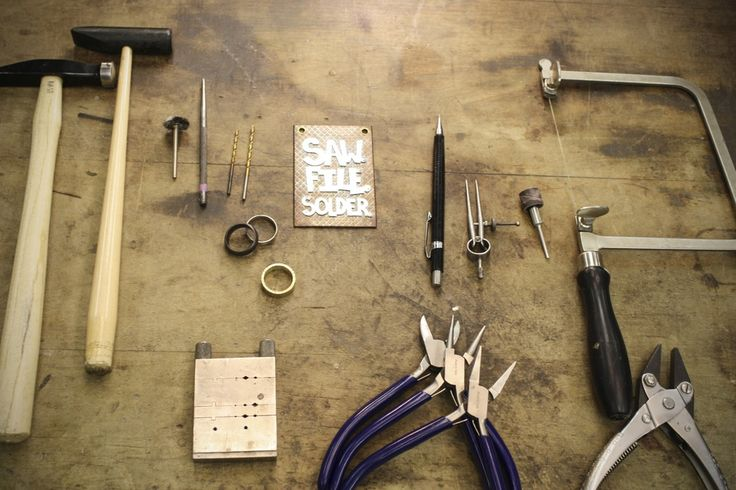 Saw, File, Solder: An Introduction to Metalsmithing by Nash Quinn at Peters Valley October 15-16