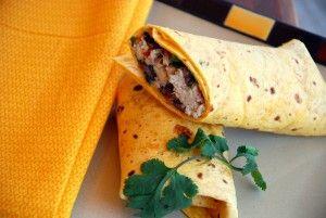 Easy dinner: Slow-cooked Santa Fe burritos