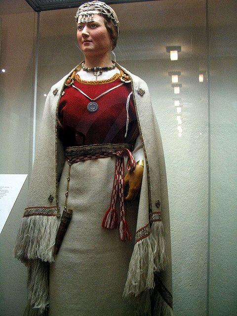 An ancient Finnish costume