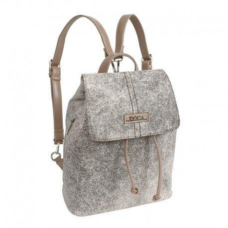 Τσάντα πλάτης σε μπεζ χρώμα