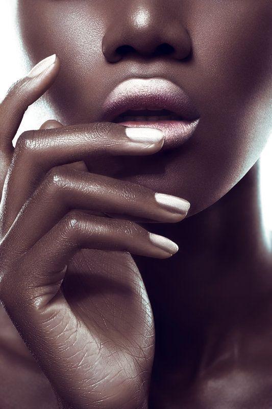 silver ombre lipstick